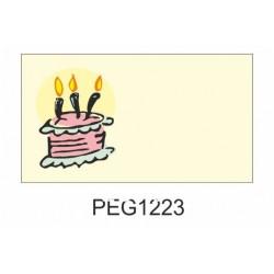 Pegatina cumpleaños