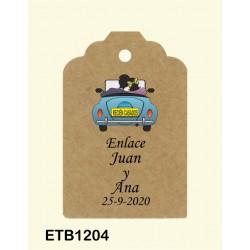 Etiqueta colgante etb1204