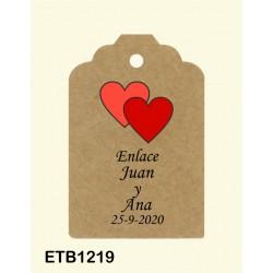 Etiqueta colgante etb1219