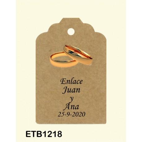 Etiqueta colgante etb1218