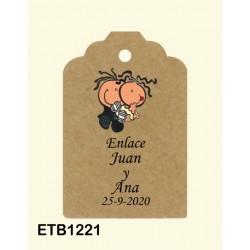 Etiqueta colgante etb1221
