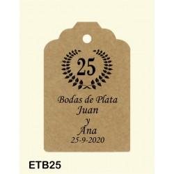 Etiqueta colgante etb25