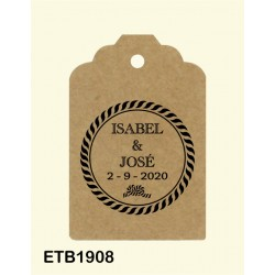 Etiqueta colgante etb1908