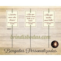 Bengala Personalizada