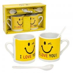 juego de tazas mini smile
