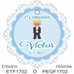 Etiqueta colgante ETF1704