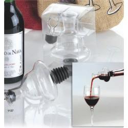 Servidor de vino con tapón