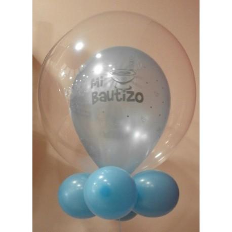 Globo bubble bautizo