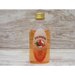 Licor pacharán en botella petaca 50ml.