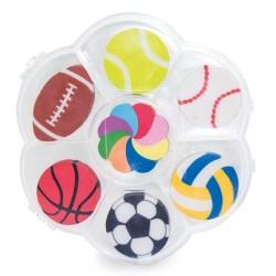 set de gomas deportes