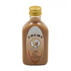 Licor de Crema en botella petaca 50ml.