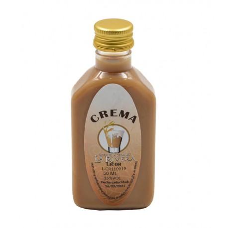 Licor de Crema en botella petaca 50ml.