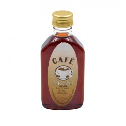 Licor cafe en botella petaca 50ml.