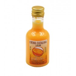 Licor de crema catalanaa 50ml alba
