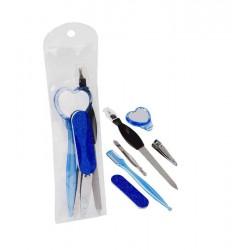 set de manicura azul