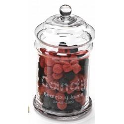 tarro para candy bar