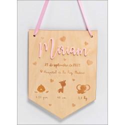 Cartel nacimiento personalizado
