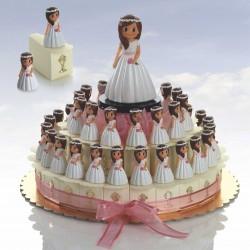composición tarta comunión