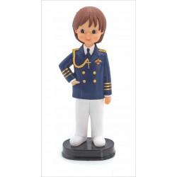 Niño comunión almirante pantalón blanco 17cm