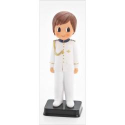 Niño comunión almirante traje blanco 17 cm