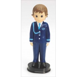 Niño comunión almirante traje azul 17 cm