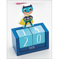 Calendario perpetuo Batman simpático