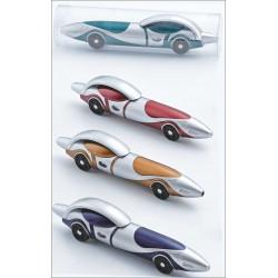 bolígrafo con forma de coche en tubo acetato