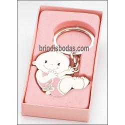 Llavero bebé con caja