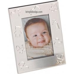marco de fotos aluminio