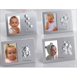 marco de fotos aluminio surtido 4mod