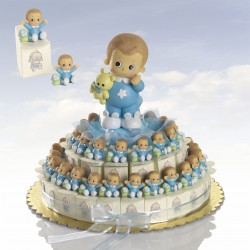 composición tarta Bebé