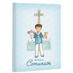 Libro de firmas comunión con maletín a juego