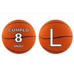 Banderín guirnalda Baloncesto Personalizada
