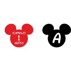 Banderín guirnalda Mickey Personalizada