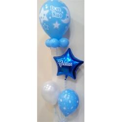 Composición de globos